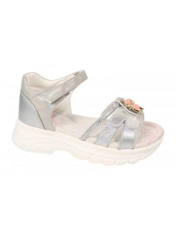 Туфли открытые Tom&Miki B-7280-E серебро (27-32)