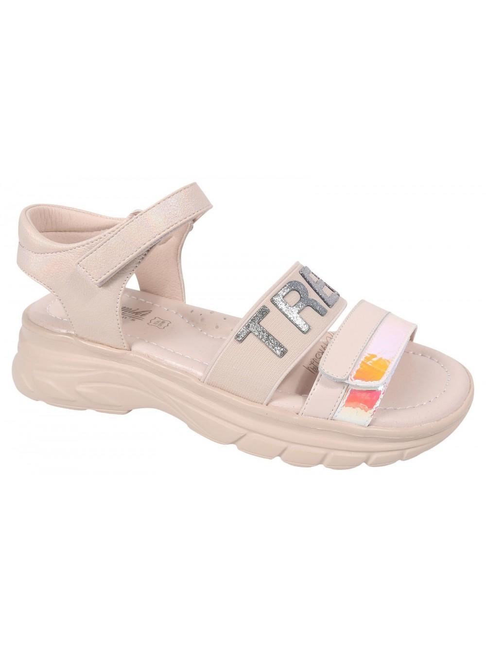 Туфли открытые Tom&Miki B-7238-E бежевый (33-37)