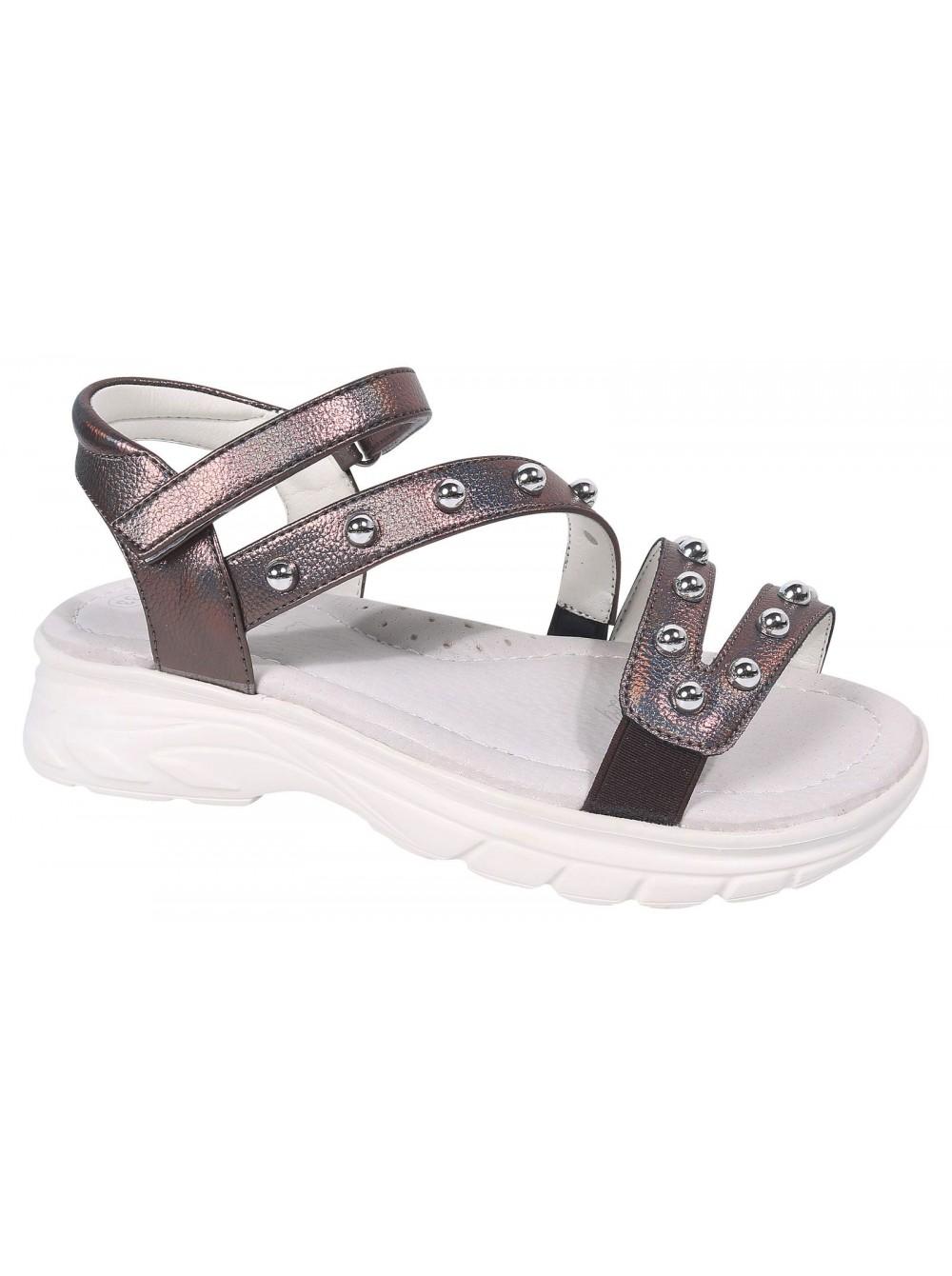 Туфли открытые Tom&Miki B-7241-C коричневый (33-37)