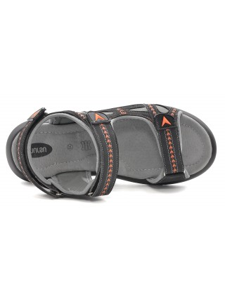 Сандалии MURSU 215731 черный/оранжевый (36-40)