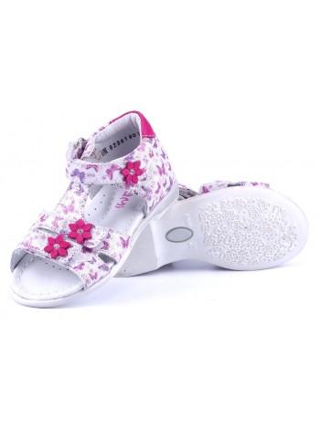 Туфли Elegami 7-82961901 белый/розовый (22-26)