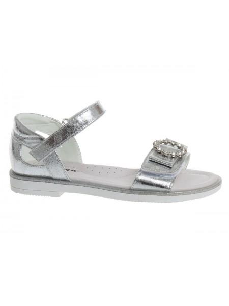 Туфли открытые Сказка R525931001 серебро (31-36)