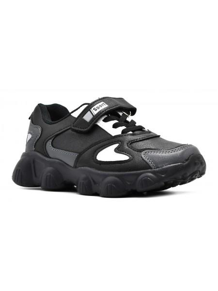 Кроссовки Отличник Y05-A1 черный (31-36)