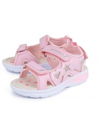 Туфли открытые со светодиодами Antilopa AL 2476 розовый (25-30)
