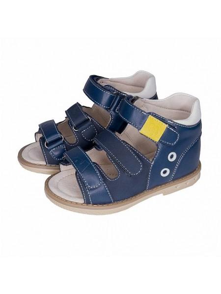 Сандалии Nordman Boom 1-754-B02 синий/желтый (22-26)