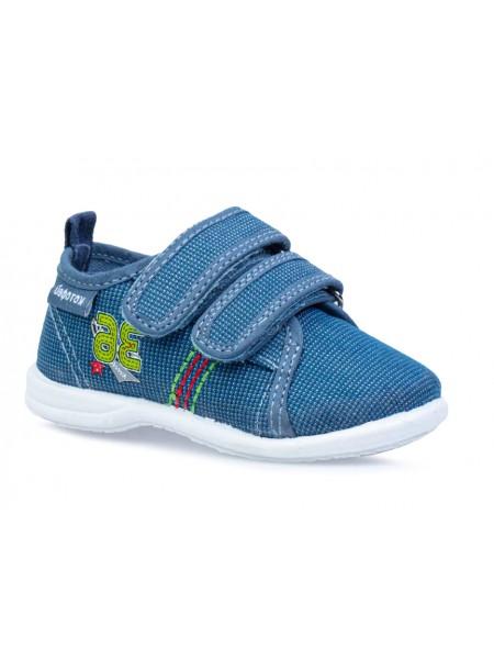 Текстильная обувь Котофей 131151-11 синий (20-26)