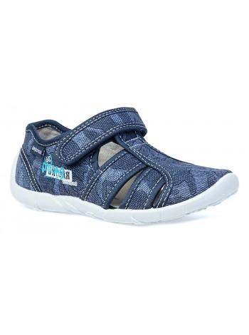 Текстильная обувь Котофей 421021-16 синий (26-33)