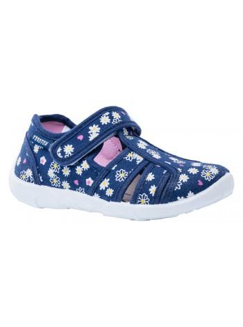 Текстильная обувь Котофей 521004-11 синий (30-33)