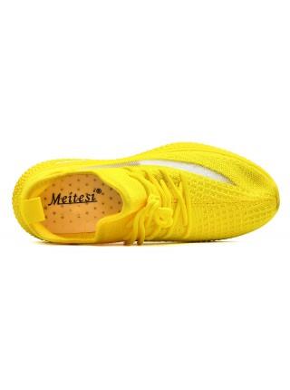 Кроссовки Мэйтэси LS62-5 желтый (36-41)