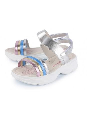Туфли открытые Antilopa AL 2441 серебро (30-35)