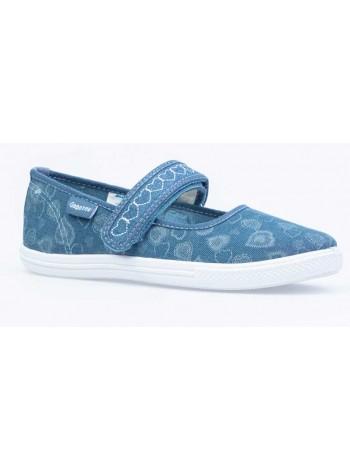 Текстильная обувь Котофей 631109-11 синий (31-37)