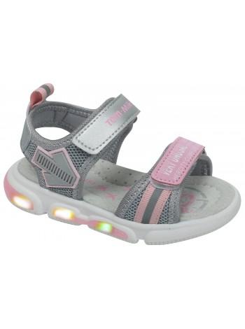 Туфли открытые Tom&Miki B-9032-K серебро (21-26)