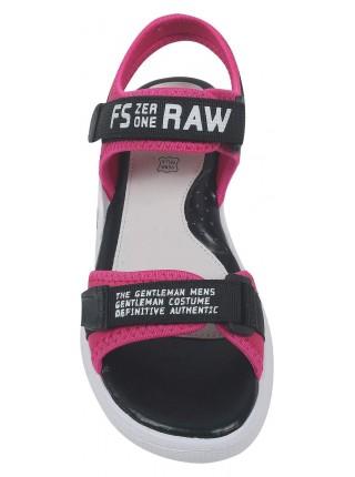 Туфли открытые Tom&Miki B-9117-C черный/розовый (35-40)