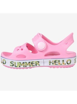 Пляжная обувь со светодиодами Kapika 82189 розовый (25-30)