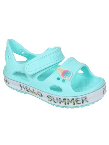 Пляжная обувь со светодиодами Kapika 82189 мятный (25-30)