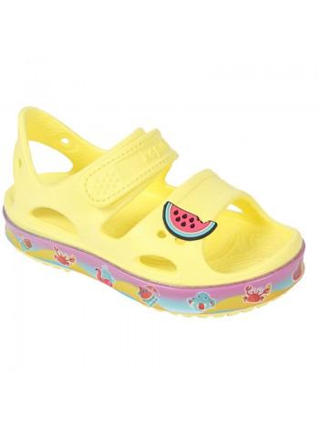 Пляжная обувь со светодиодами Kapika 82190 желтый (25-30)