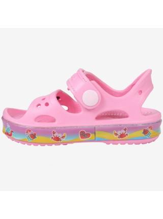 Пляжная обувь со светодиодами Kapika 82190 розовый (25-30)