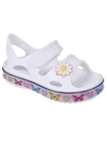 Пляжная обувь со светодиодами Kapika 82191 белый (25-30)