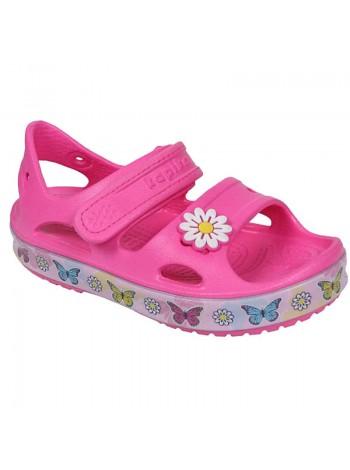 Пляжная обувь со светодиодами Kapika 82191 фуксия (25-30)