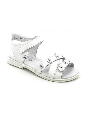 Туфли открытые ТОТТА 1162/2-КП белый (30-33)