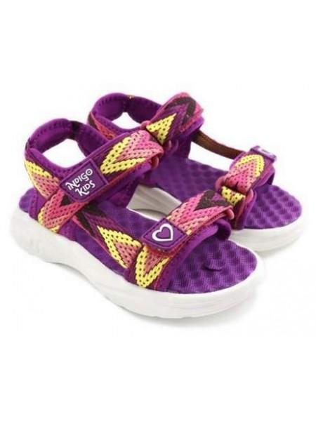 Туфли открытые INDIGO 22-276B/10 фиолетовый (31-35)