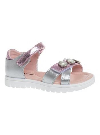 Туфли открытые Сказка R902150672 серебро (25-30)