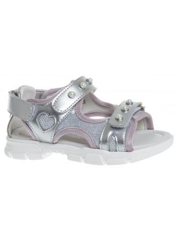 Туфли открытые Сказка R539650632 серебро (26-31)
