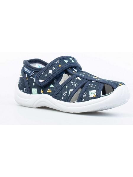 Текстильная обувь Котофей 221039-11 синий (22-25)