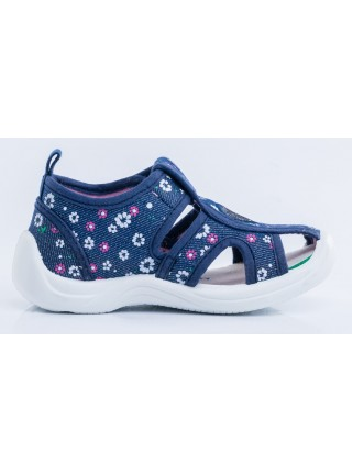Текстильная обувь Котофей 221063-12 синий (22-25)