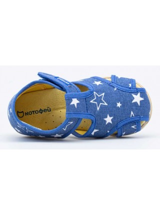 Текстильная обувь Котофей 221072-72 синий (23-26)