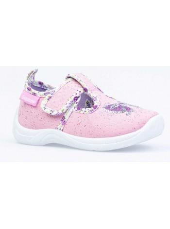 Текстильная обувь Котофей 231146-11 розовый (22-25)