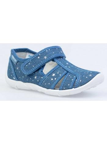 Текстильная обувь Котофей 421061-12 синий (30-33)