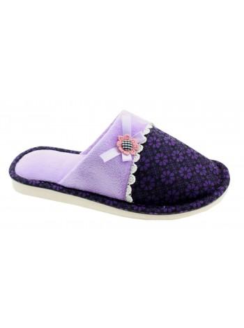 Тапочки домашние Effa 75634 фиолетовый (36-40)