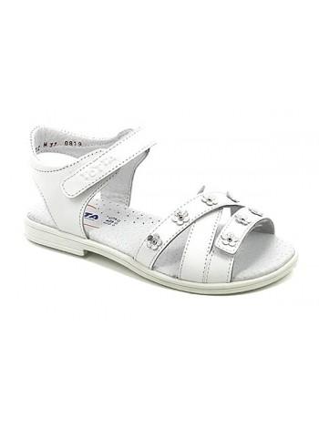 Туфли открытые ТОТТА 1162-КП белый (27-29)