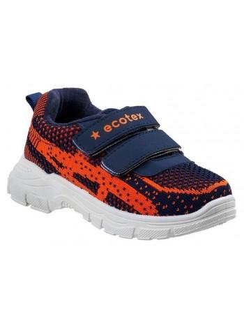 Кроссовки ECOTEX STAR 7-077TFS синий (22-29)