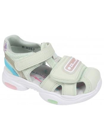 Туфли открытые Tom&Miki B-9257-D нежно-зеленый (25-30)