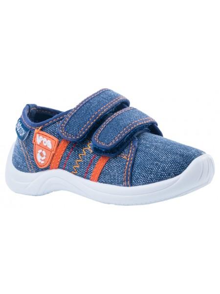 Текстильная обувь Котофей 231148-11 синий (22-25)