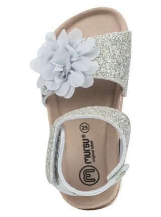 Туфли открытые MURSU S21SDPU402G серебро (23-32)