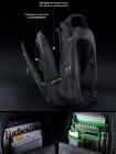 Рюкзак SkyName 90-111 черный/синий 30Х16Х42
