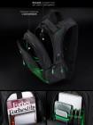 Рюкзак SkyName 90-102 черный 30Х16Х42