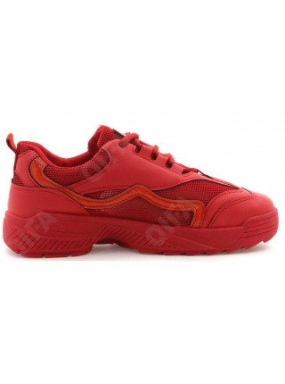 Кроссовки Balinna GZ106-5 красный (35-40)