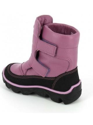 Ботинки зимние Тотта 453-ТП сирень (23-26)