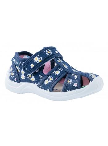 Текстильная обувь Котофей 221059-11 синий (24)