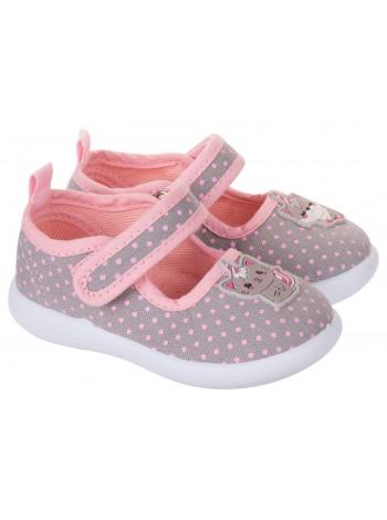 Текстильная обувь MURSU 217618 серый (22-27)