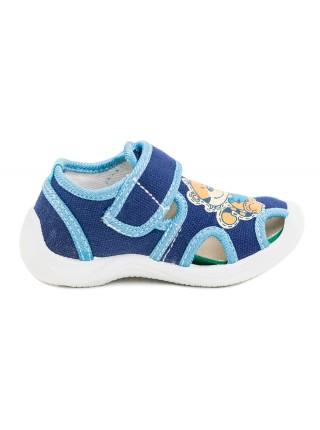 Текстильная обувь Котофей 121010-13 синий (23)