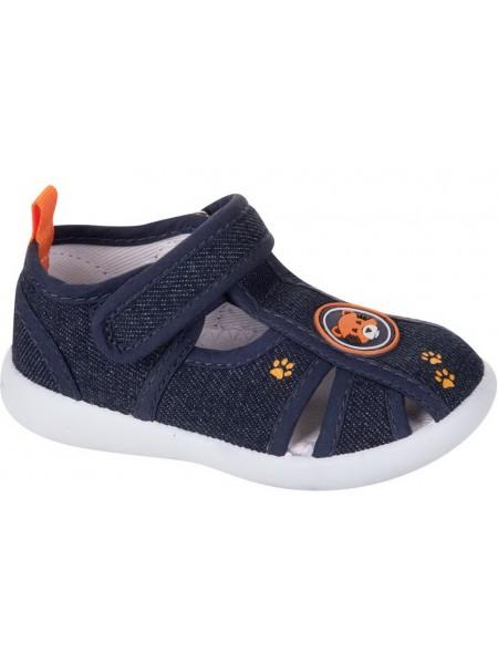 Текстильная обувь MURSU 217585 синий (22-27)