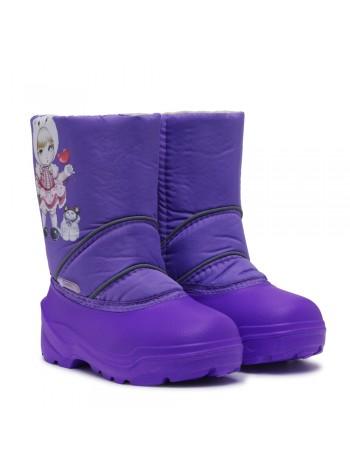 Сноубутсы Дюна 575 девочка/фиолетовый (27-33)