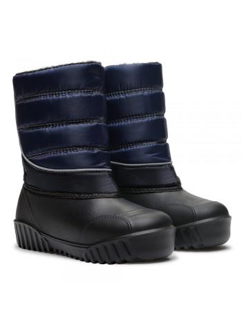 Сноубутсы Дюна 555 синий/черный (34-41)