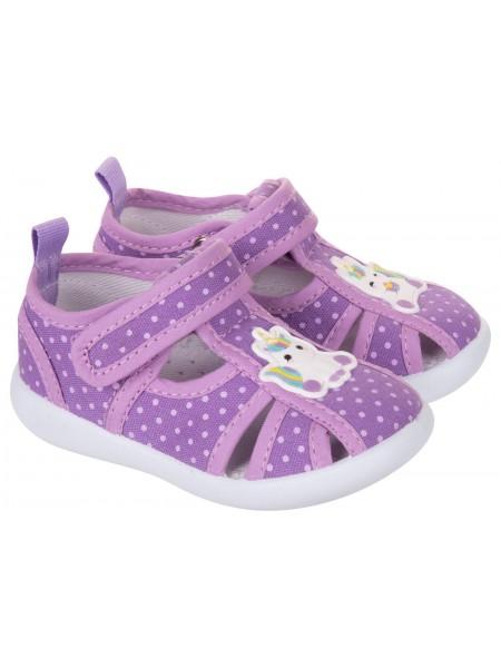 Текстильная обувь MURSU 217600 сиреневый (22-27)
