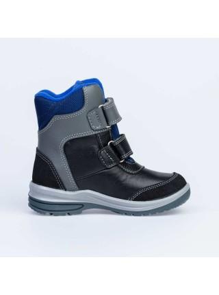 Ботинки зимние Котофей 452120-41 черный/синий (27-31)
